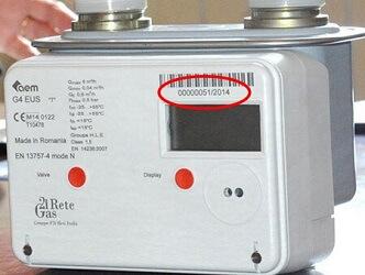 contatore samgas batteria