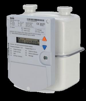 contatore gas batteria
