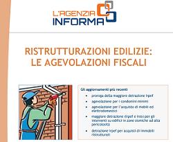 La detrazione fiscale al 50 per le ristrutturazioni e for Detrazione fiscale stufe a pellet agenzia entrate
